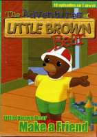 A kis barna mackó kalandjai (The Adventures of Little Brown Bear) online sorozat