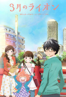 3-gatsu no Lion (March Comes in Like a Lion) sorozat